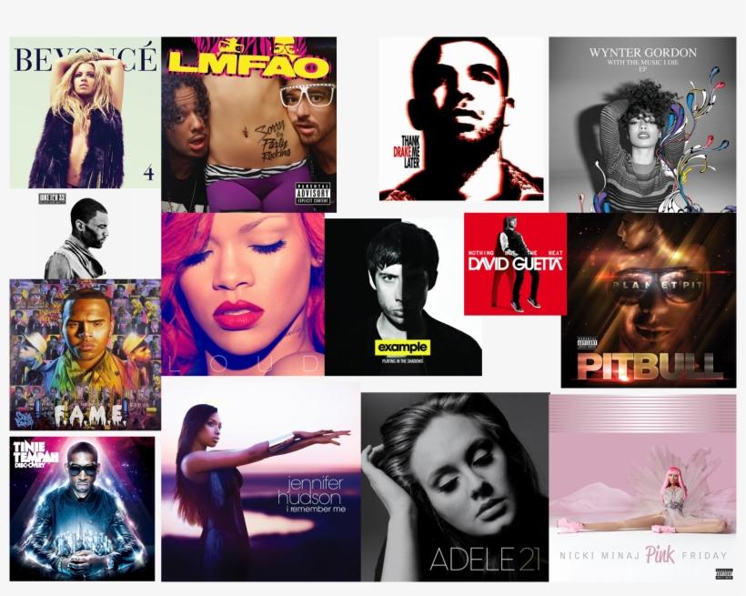 Album Cover Collage - Chris Brown: F a m e (deluxe Version