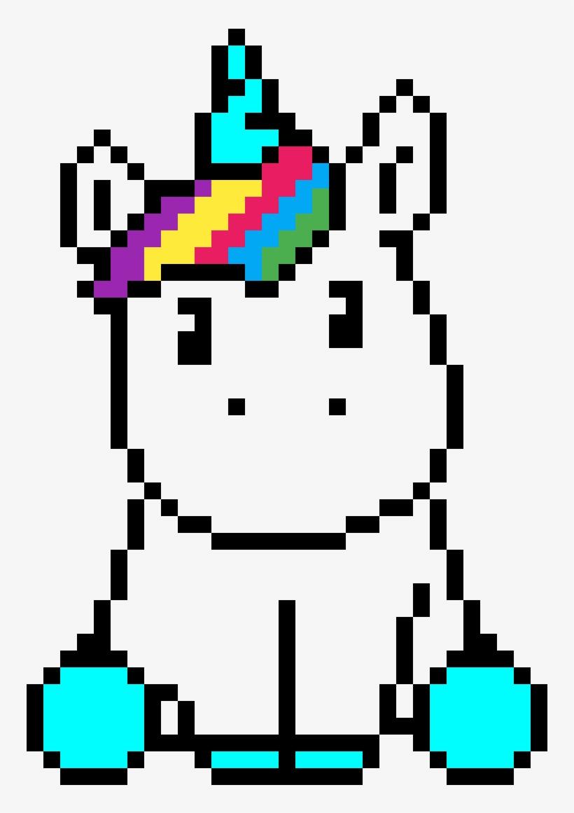 Baby Unicorn Pixel Art Unicorn 1200x1200 Png Download