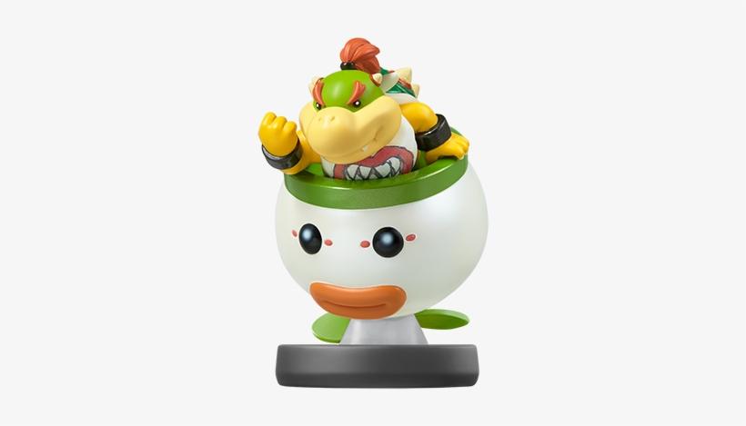 Bowser Jr Bowser Jr Amiibo Smash Bros 500x537 Png