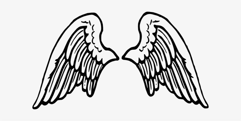 d22bda2b4 Banner Download Clip Art At Clker Com Vector Online - Cartoon Angel Wings  Png