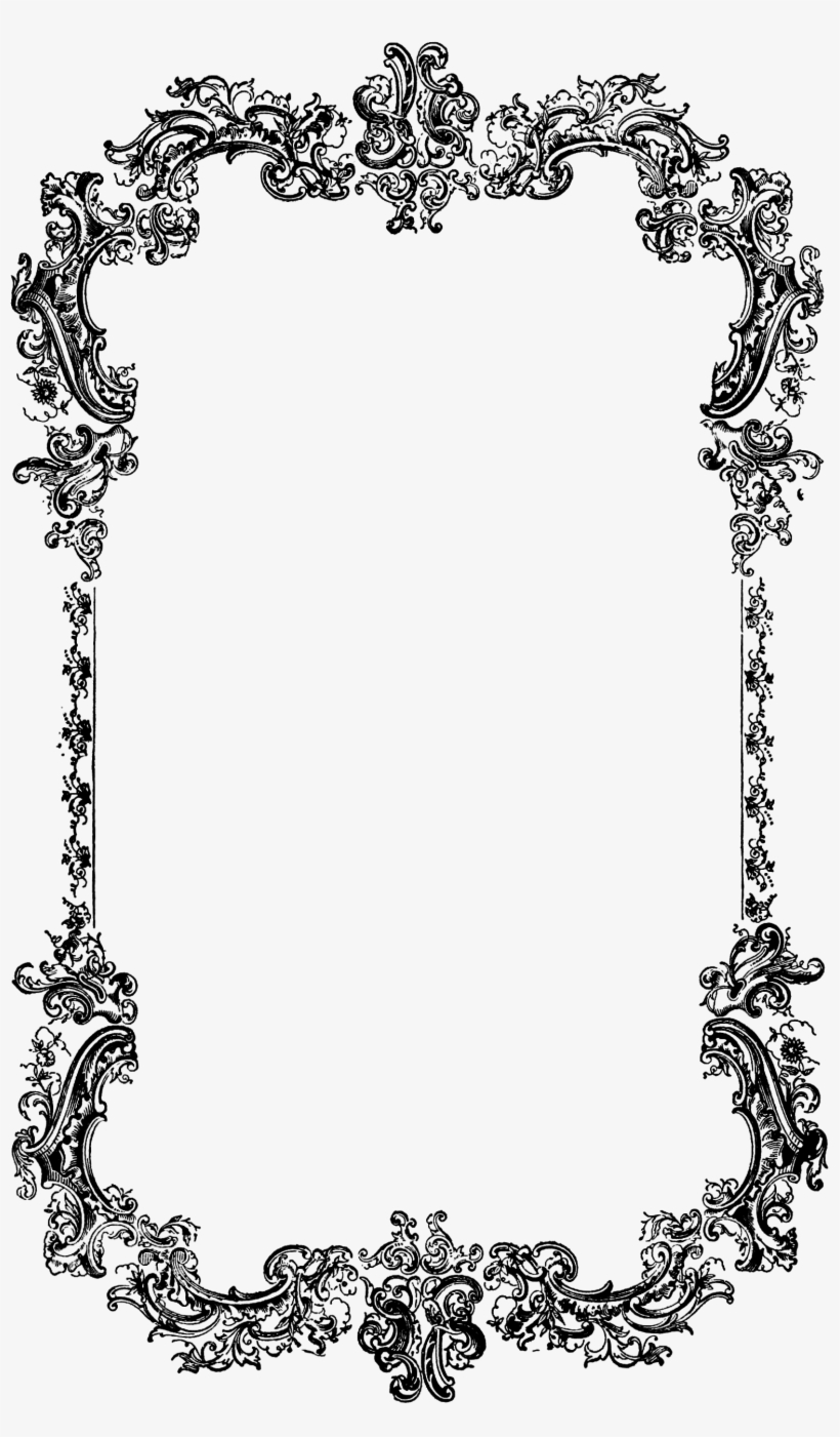 Image Result For Victorian Photo Frame Frames Borders Black And