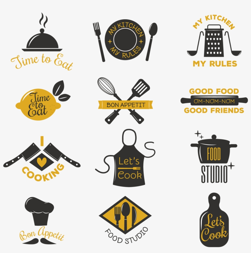 Cooking And Catering Logo Icons Logos De Catering Service