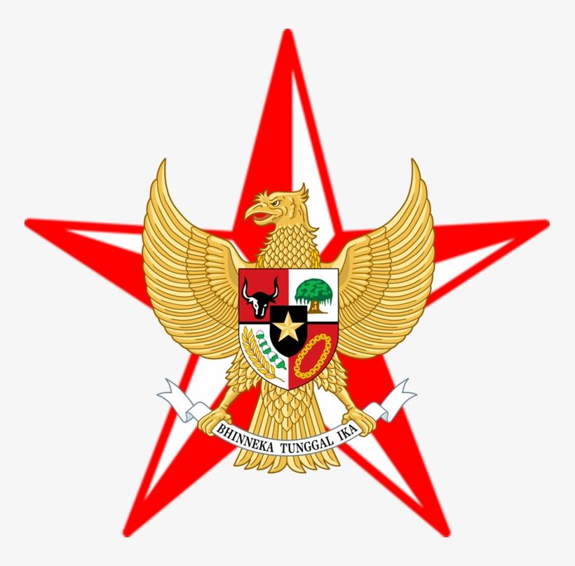 Barnstar Merah Putih Garuda Logo Garuda Merah Putih 751x727 Png Download Pngkit
