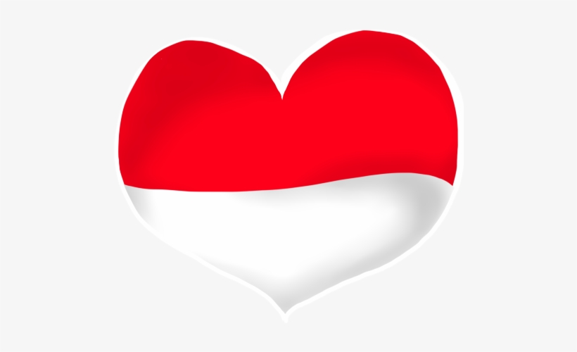 Merah Putih Png Heart 500x500 Png Download Pngkit