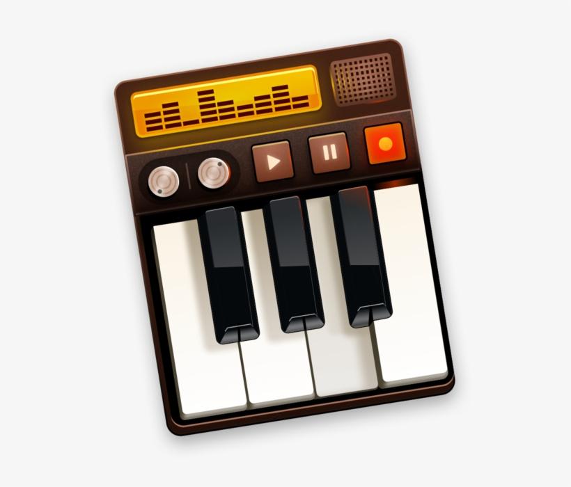 Grand Piano Keys En Mac App Store - Piano - 630x630 PNG