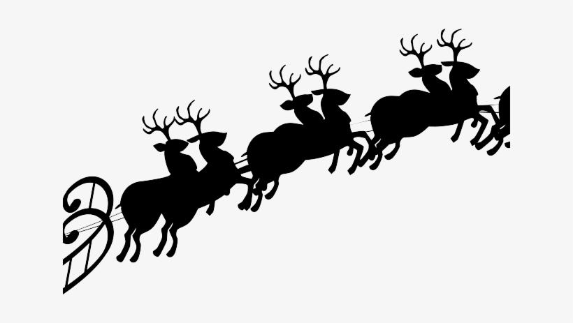3a60574a7a99d Sleigh Clipart Flying Reindeer - Santa Claus Sleigh Png - 640x480 ...