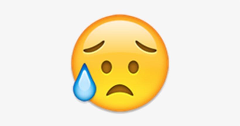 Sad Face Emoji Transparent - Emojis En Png Triste - 351x352 PNG ...