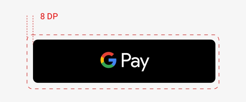 Google Pay Payment Button Clear Space Example For Android