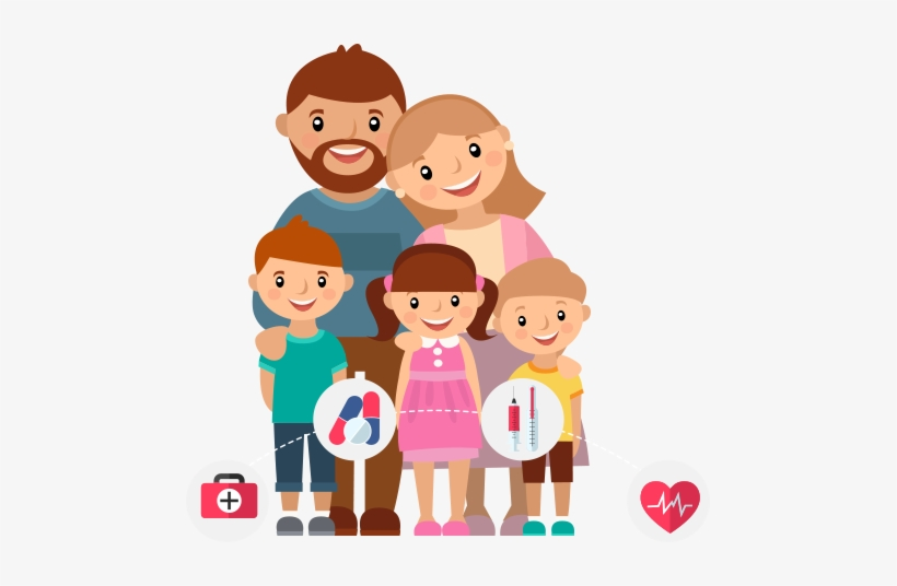 Happy Family Cartoon Png 479x456 Png Download Pngkit