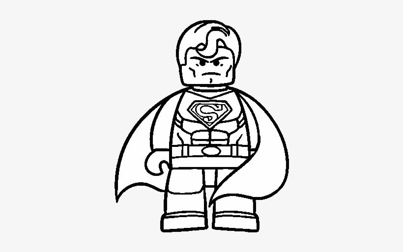 Drawing Marvel Super Heroes 312 Superman Lego Para