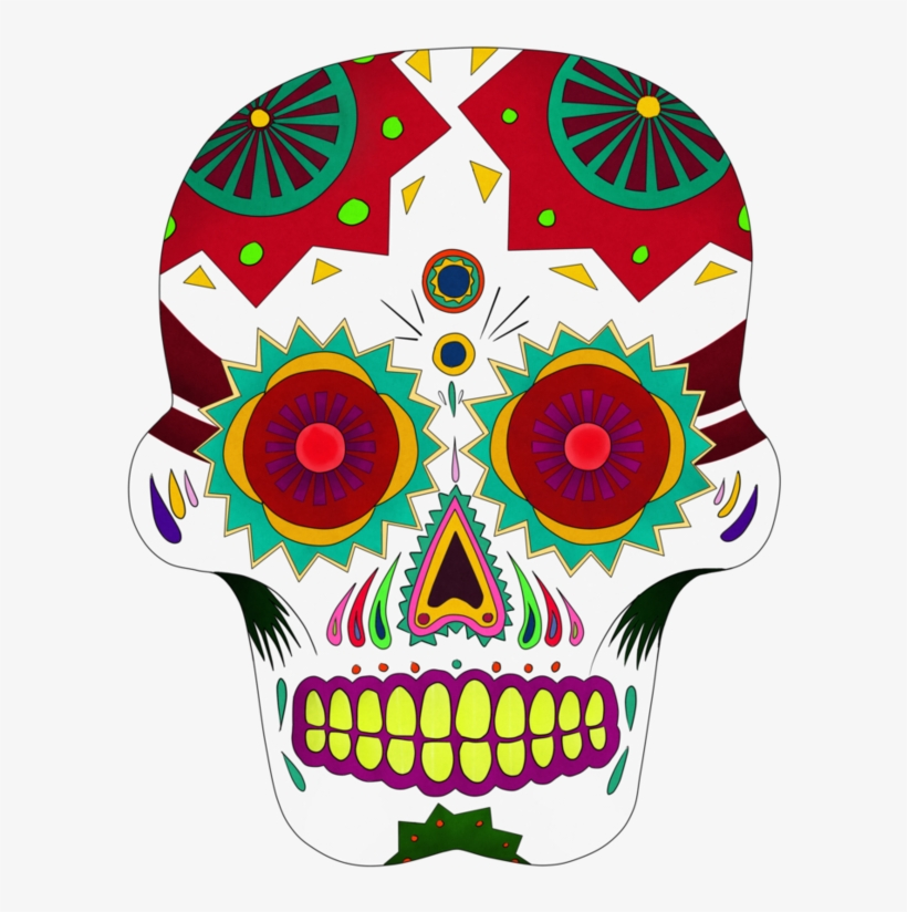 🎨 Sugar Skull Coloring Pages - Kizi Coloring Pages | 824x820