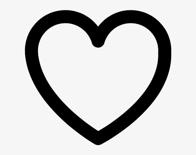 Svg Heart Hook Aesthetic Icon Black And White 1000x950 Png Download Pngkit