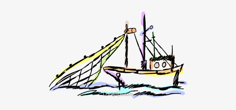 Commercial Fishing Boat Royalty Free Vector Clip Art Commercial Fishing Boat Clipart Png 480x302 Png Download Pngkit