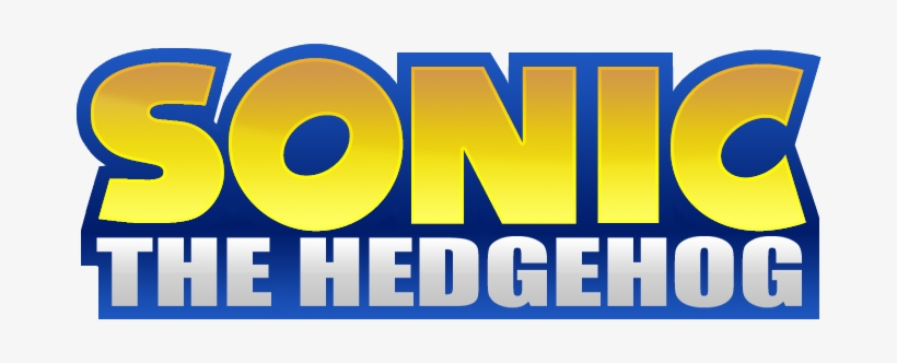 Sonic The Hedgehog Movie Logo 682x252 Png Download Pngkit
