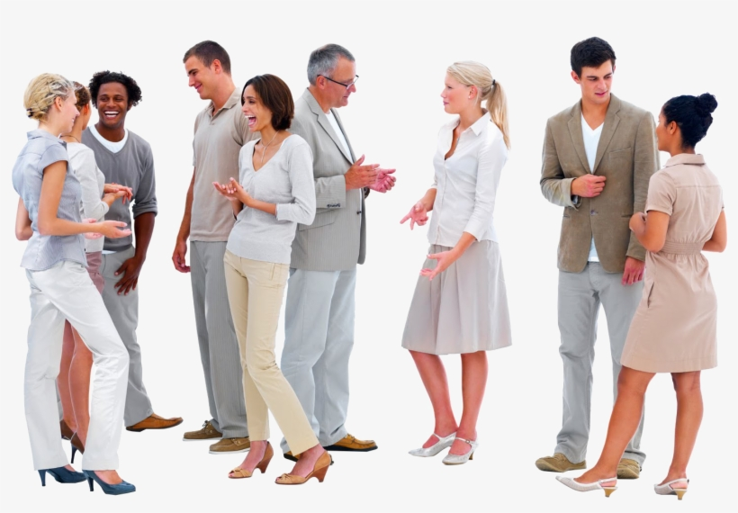 Cutout People Talking - Group Of People Talking Png - 1600x1290 ...
