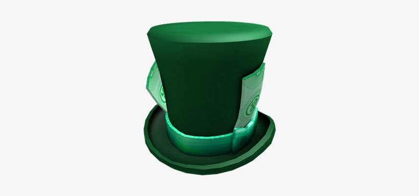 Green Robux Top Hat 420x420 Png Download Pngkit