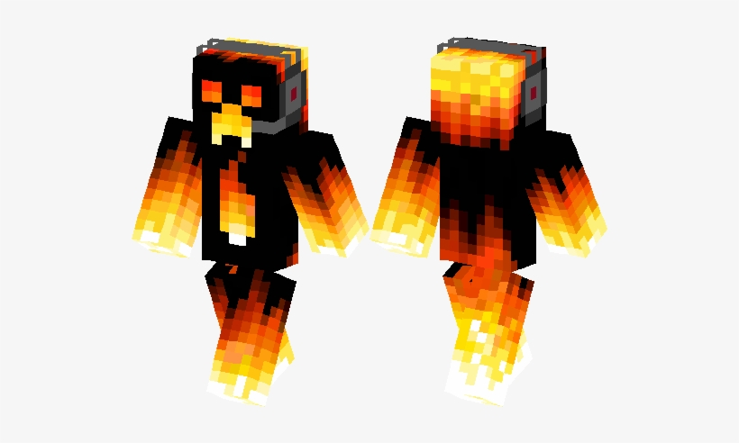 Fire Creeper Fire Creeper Skin Minecraft 528x418 Png Download Pngkit