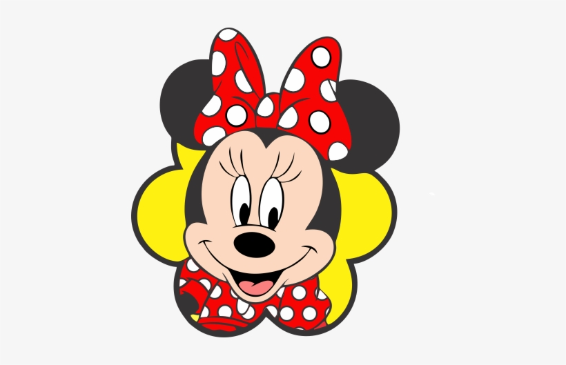 Minnie Vermelha Rosto Minnie Mouse Png 440x449 Png Download