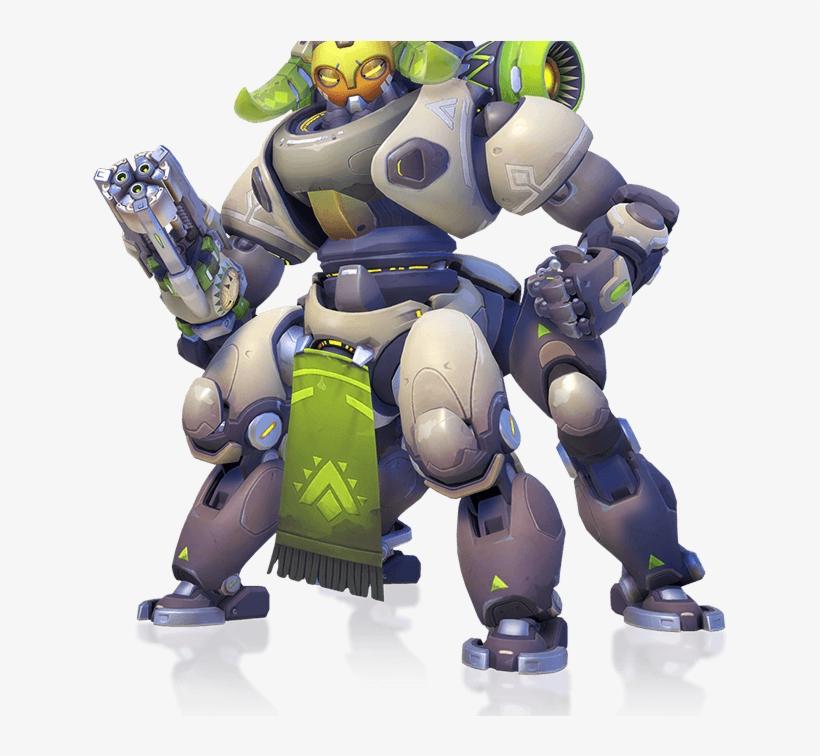 Orisa Is Overwatch's Next Character A Machine-gun Wielding