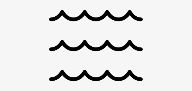 Wave Line Clip Art Black and White
