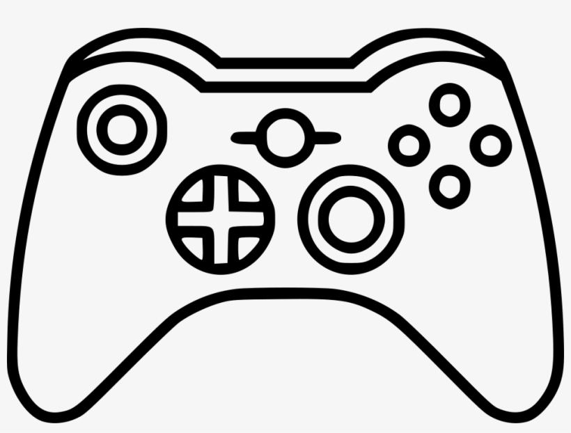 Joystick Xbox Comments Manette Jeux Video Dessin 980x696 Png