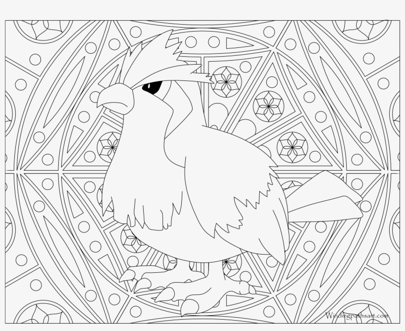 - 016 Pidgey Pokemon Coloring Page - Coloring Book - 3300x2550 PNG Download -  PNGkit