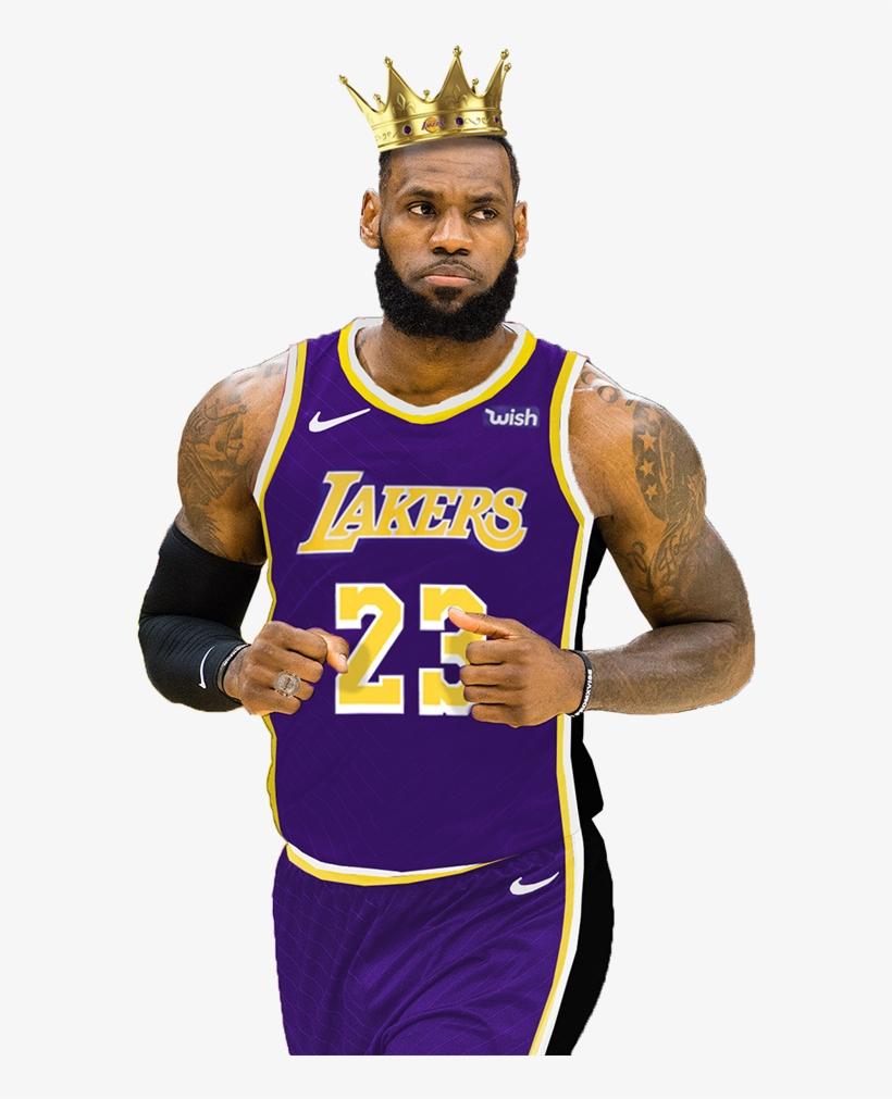 6d70c643cfc Of Lebron James In The Brand New Los Angeles Lakers - Lebron James Lakers  Cartoon