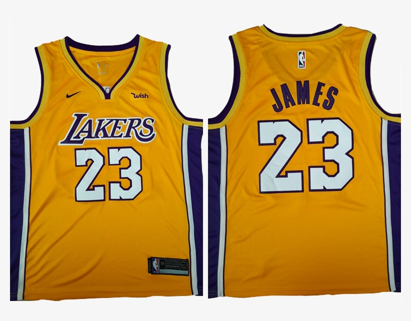 pretty nice 122b3 5a168 Los Angeles Lakers Jersey - Lebron Yellow Lakers Jersey ...