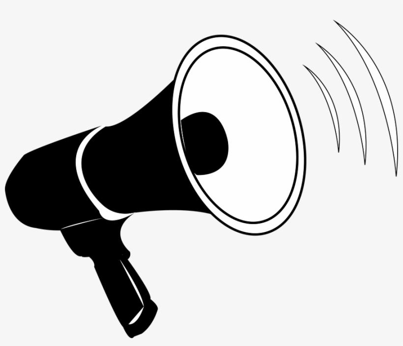 Announcements - Clip Art Bull Horn - 888x720 PNG Download ...