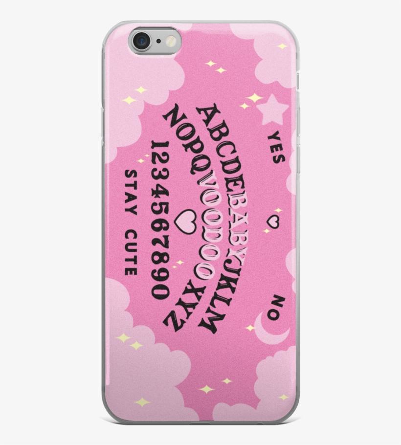 Pink Black Ouija Board Pastel Goth Phone Case Kawaii Creepy