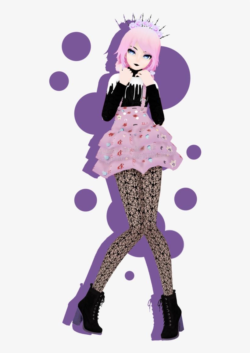 Pastel Goth Wannabe Mpanda Pinterest Pastel Goth Png - Mmd