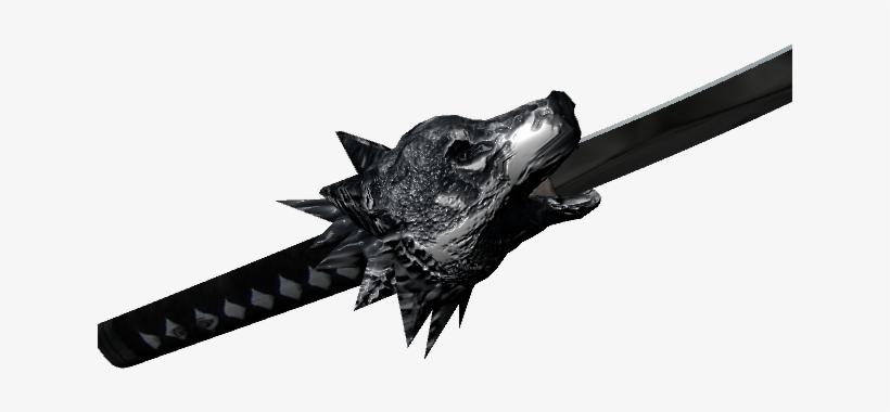 Wolflobe2 - Chrono Trigger Wolf Lobe Sword - 640x480 PNG