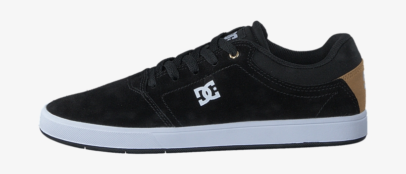 79b46bf2b8a Dc Shoes Dc Crisis Shoe Black gold 58785-00 Womens - Dc Shoes ...