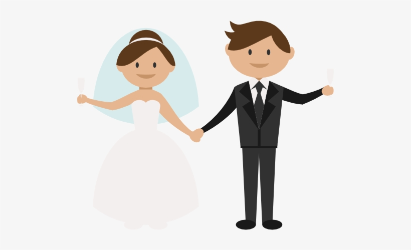 Groom Wedding Couple Bride Icon Png Images Png Images Transparent Background Bride Groom Clipart 513x419 Png Download Pngkit