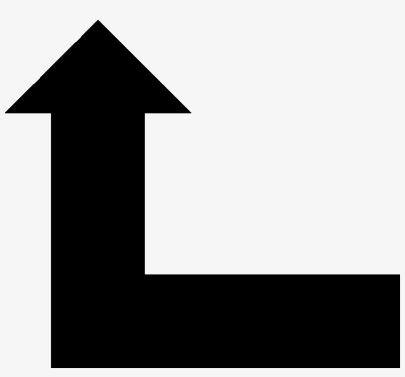 Left Black Arrow Pointing Up Clipart Up And Right Arrow 958x845