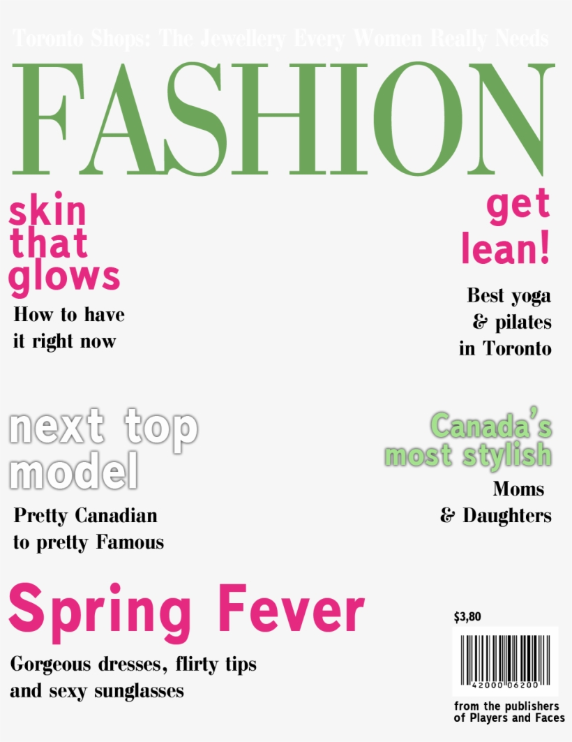 Magazine Cover Layout Template Magazine Cover Template Free 1250x1550 Png Download Pngkit