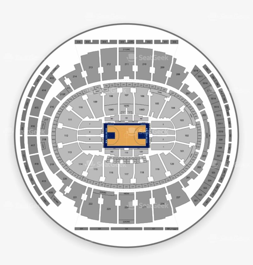 New York Knicks Seating Chart Madison Square Garden 1000x1000
