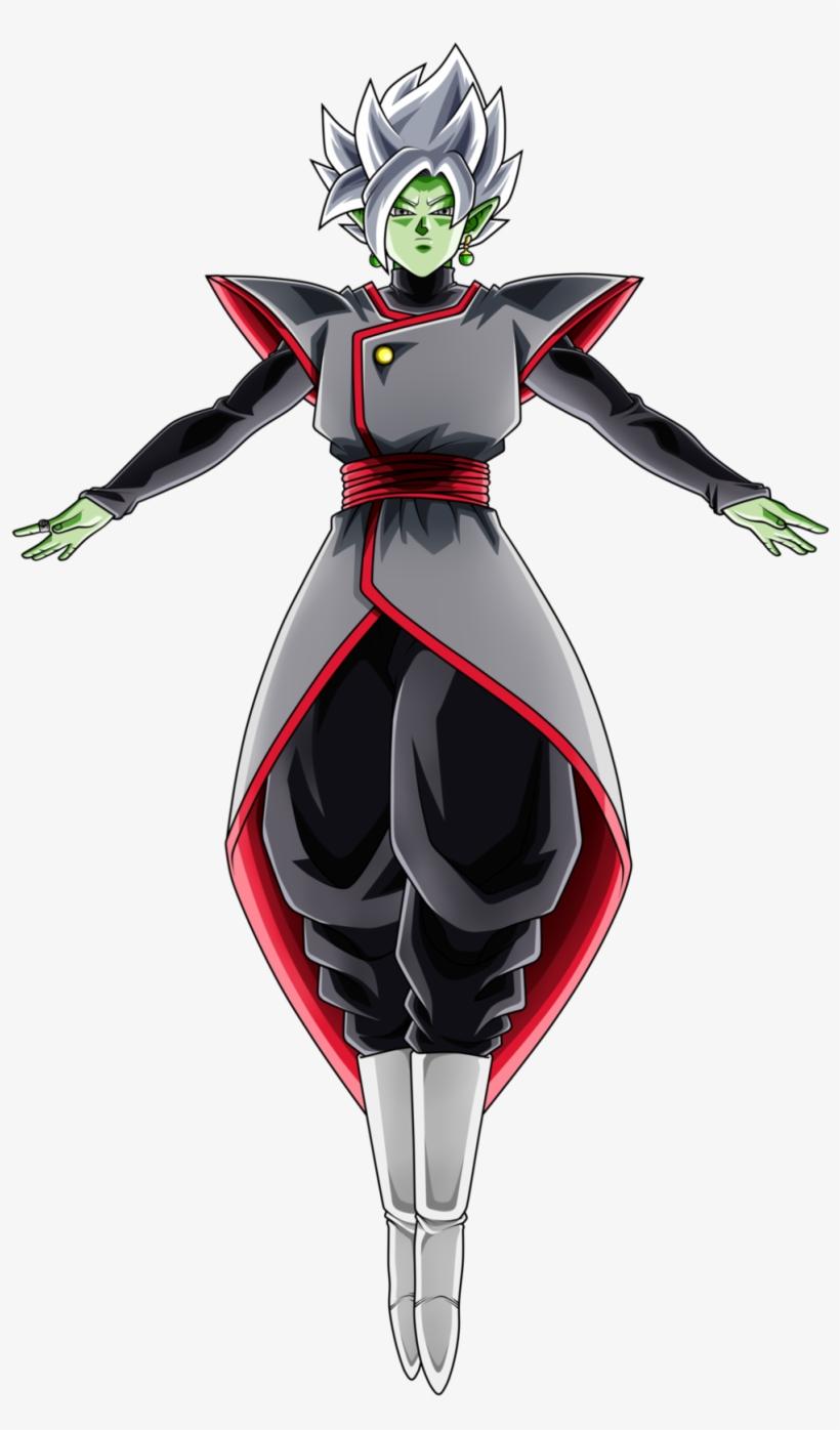 Zamasu Coloriage Dragon Ball Z Black Et Zamasu 1000x1750 Png