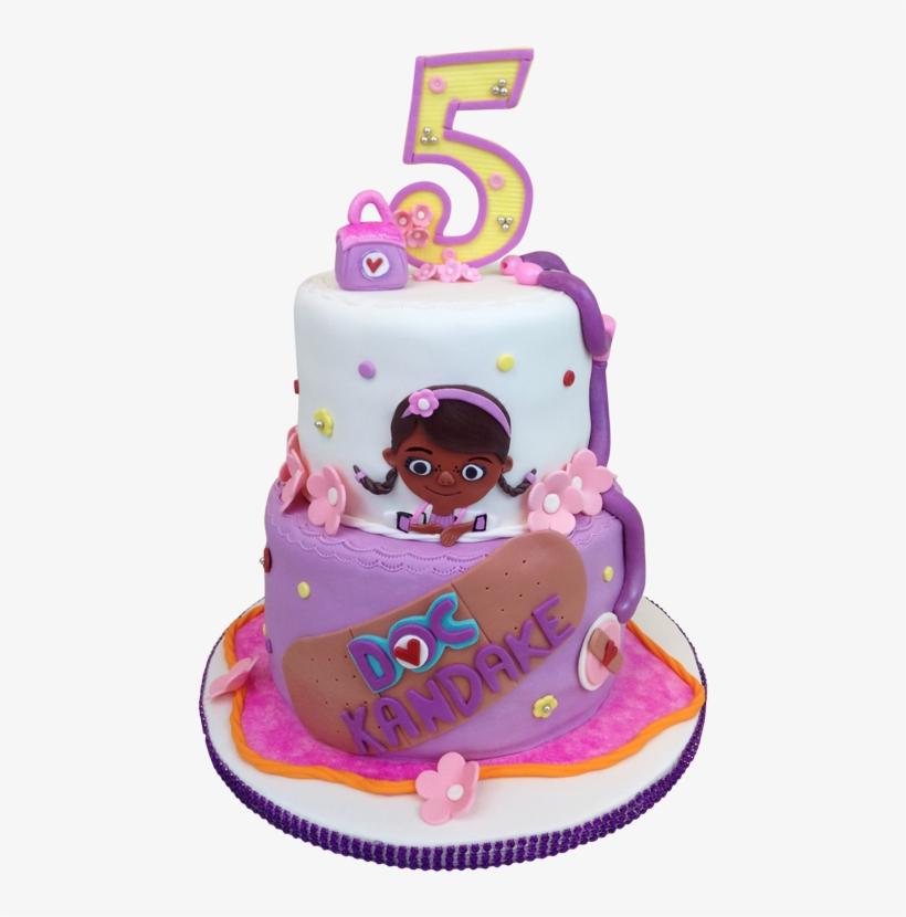 Fabulous Doc Mcstuffins Birthday Cake Cake 600X803 Png Download Pngkit Funny Birthday Cards Online Amentibdeldamsfinfo