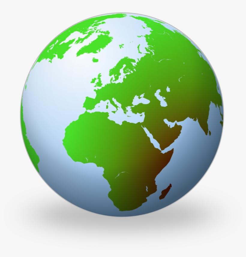 c798e27f35 Png Transparent Library File Terrestrial Globe Wikipedia - Globe Black And  White