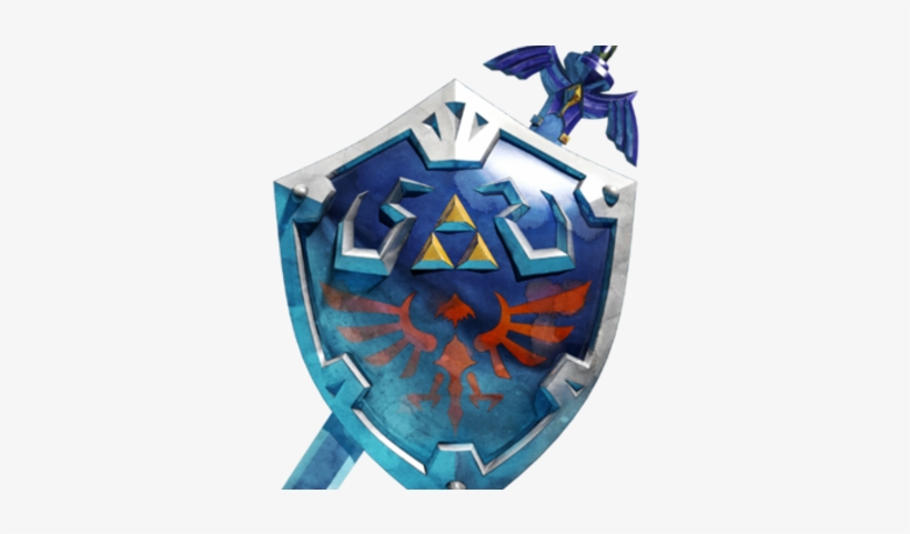 Joseph Master Sword And Hylian Shield Breath 400x400 Png Download Pngkit