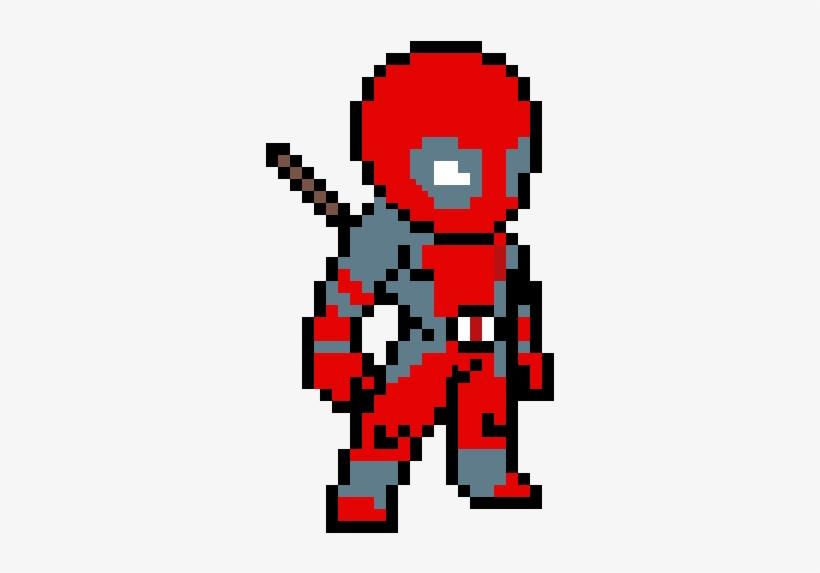Random Image From User Deadpool Pixel Art 600x600 Png