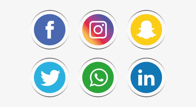 Set Icon And Vector - Facebook Instagram Icon Png - 640x640