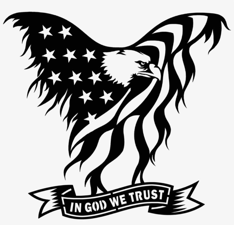 United States Clipart American Flag Eagle Eagle Flag In God We