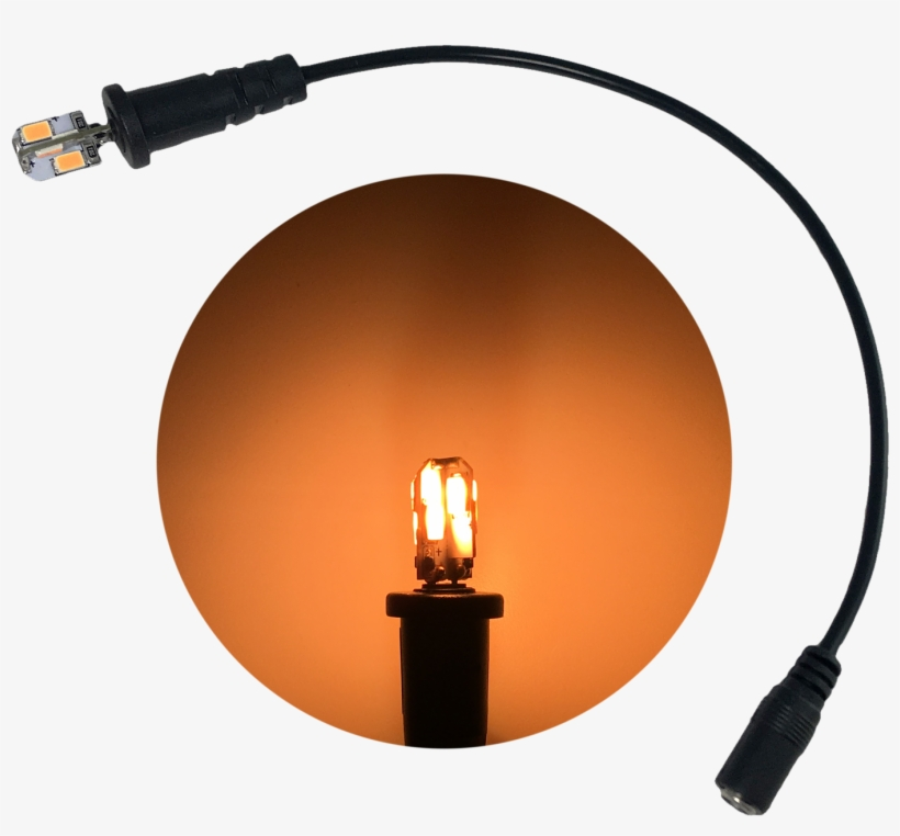 Fel Flame Effects Light 8 Led Candle Flame Spectrum - Light
