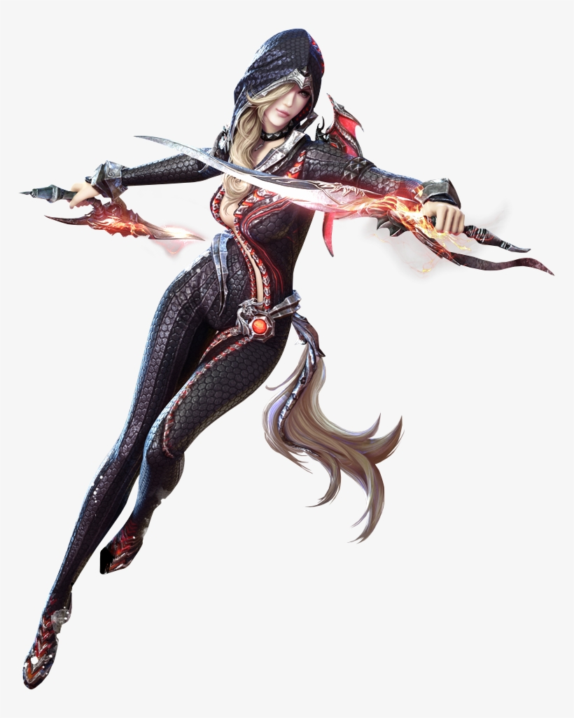 Female Assassin Ninja Outfit Game Character Character Pixel