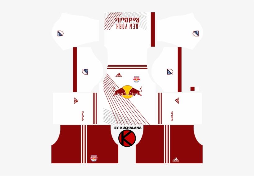 newest 33dd5 bd401 New York Red Bulls Kits - Belgium Kit Dream League Soccer ...
