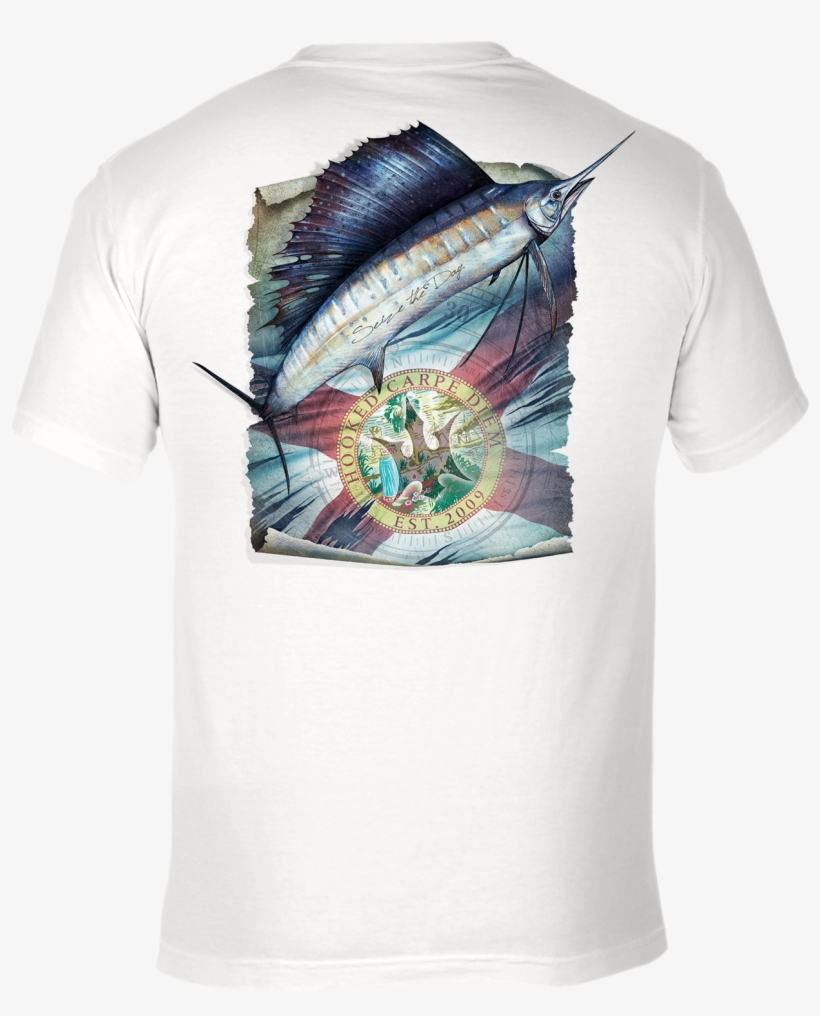 Sailfish Fl Flag - Swordfish - 1673x1599 PNG Download - PNGkit
