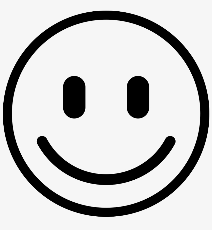 Smiley Blanc Png Smiley Noir Et Blanc 932x932 Png Download Pngkit