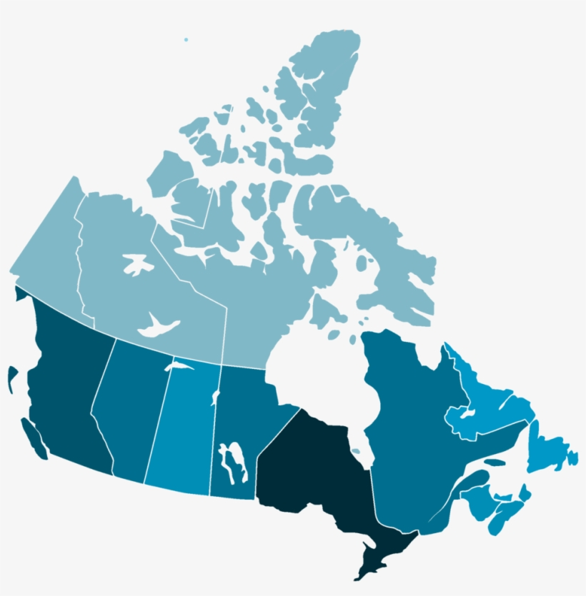 Map Of Canada Download.Canada Map 4 Blank Map Of Canada 1000x969 Png Download Pngkit